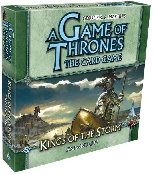 A Game of Thrones: The Card Game - Kings of the Storm Expansion - comprar online