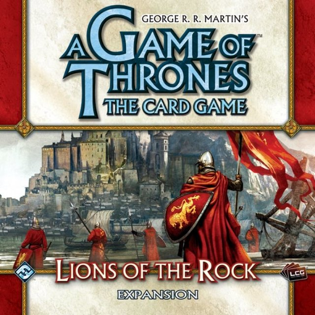 A Game of Thrones: The Card Game - Lions of the Rock Expansion - comprar online