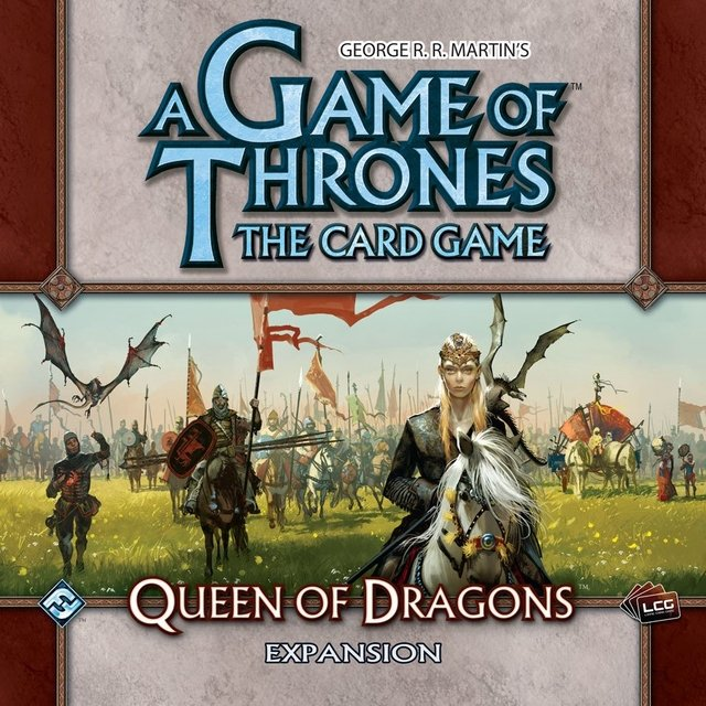 A Game of Thrones: The Card Game - Queen of Dragons Expansion - comprar online