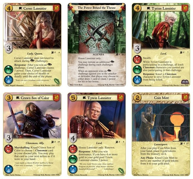 A Game of Thrones: The Card Game - Lions of the Rock Expansion en internet