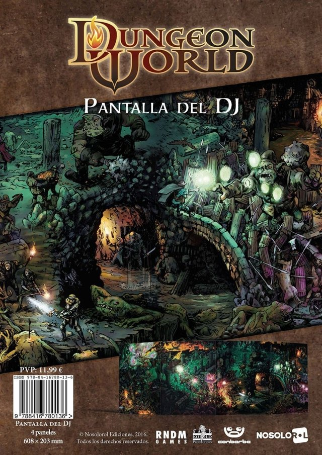 Dungeon World: Pantalla del DJ