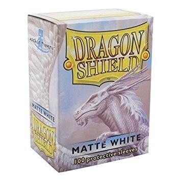 Folios Dragon Shield: Matte White (100) - comprar online