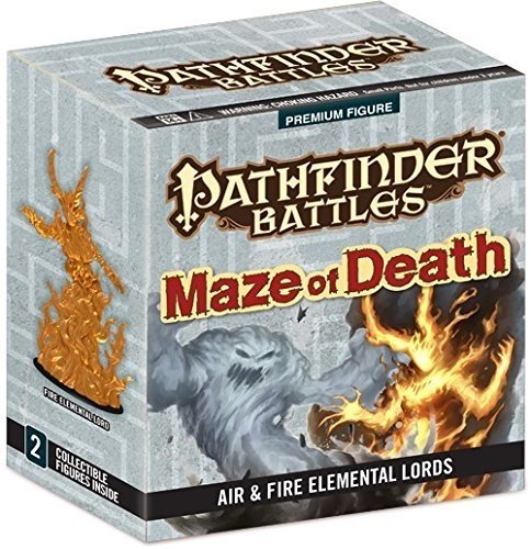 Pathfinder Battles: Maze of Death - Air and Fire Elemental Lord