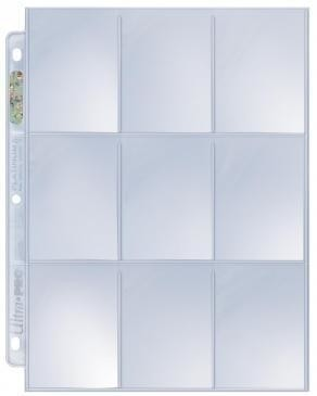 Ultra PRO Platinum Series (Páginas de folios 9-pocket x25)