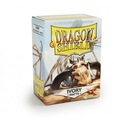 Folios Dragon Shield: Ivory Mate (100) - comprar online