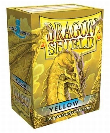 Folios Dragon Shield: Yellow (100)