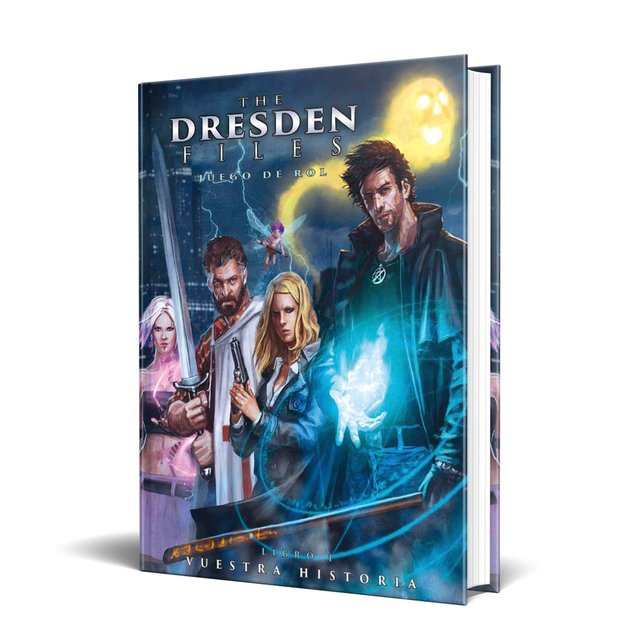 The Dresden Files: Juego de rol (Incluye copia virtual en PDF)