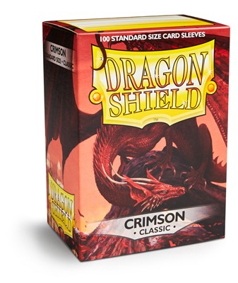 Folios Dragon Shield: Crimson Classic (100) - comprar online