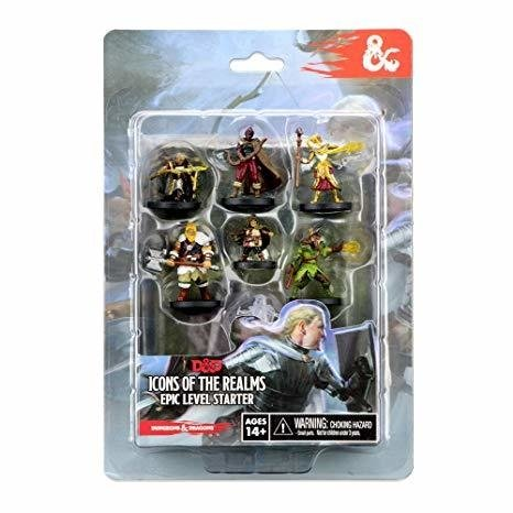 Icons of the Realms - Epic Level Starter - comprar online