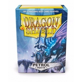 Folios Dragon Shield: Petrol Matte (100) - comprar online