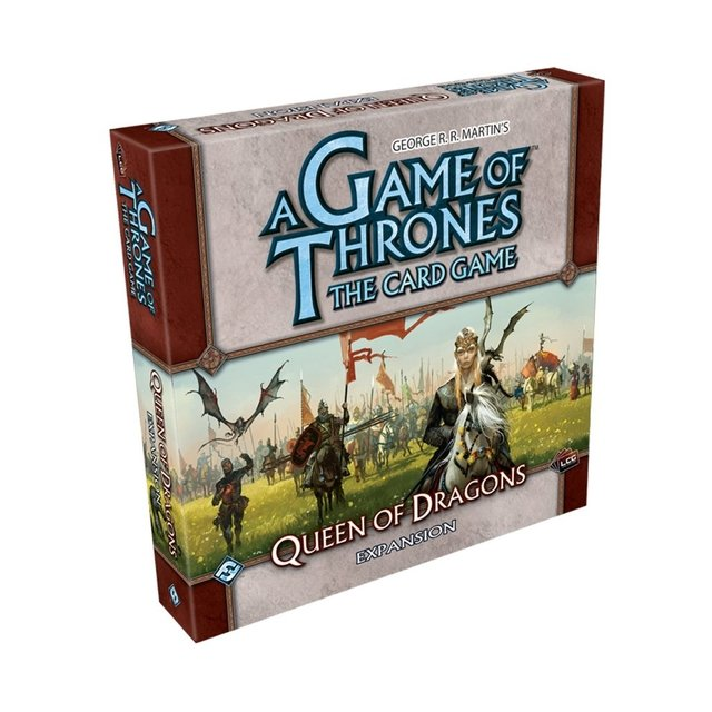 A Game of Thrones: The Card Game - Queen of Dragons Expansion