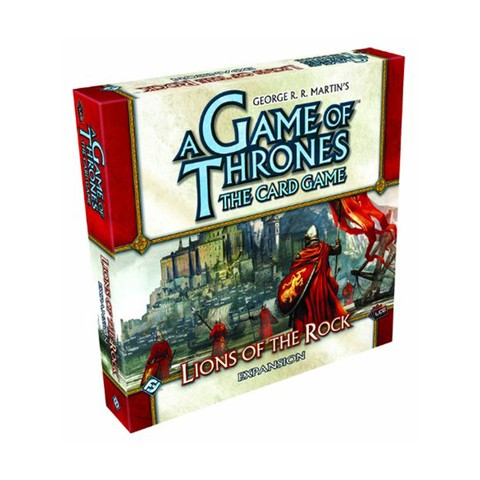 A Game of Thrones: The Card Game - Lions of the Rock Expansion