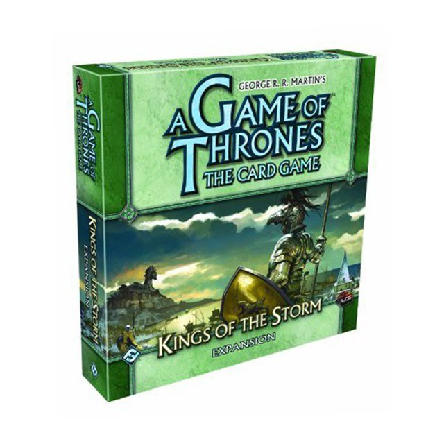 A Game of Thrones: The Card Game - Kings of the Storm Expansion