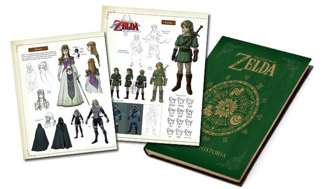 The Legend of Zelda: Hyrule Historia en internet