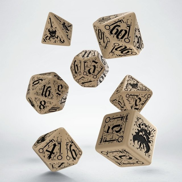 Set de 7 Dados Q-Workshop Pathfinder Council of Thieves