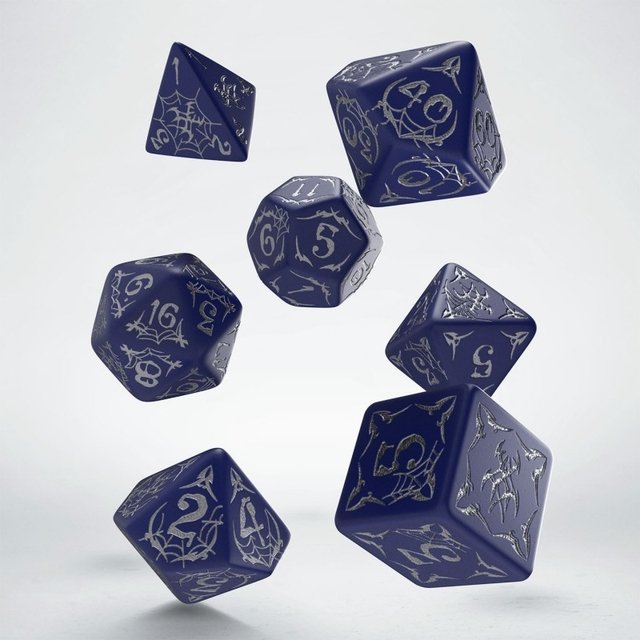 Set de 7 Dados Q-Workshop Pathfinder Second Darkness