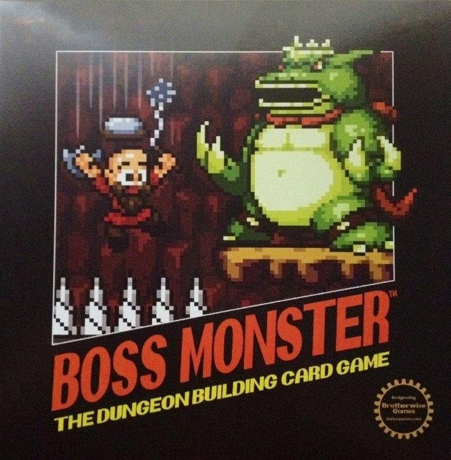Boss Monster: The Dungeon Building Card Game - EL OGRO ALEGRE