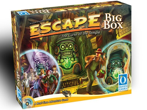 Escape: The curse of the temple Big Box - comprar online