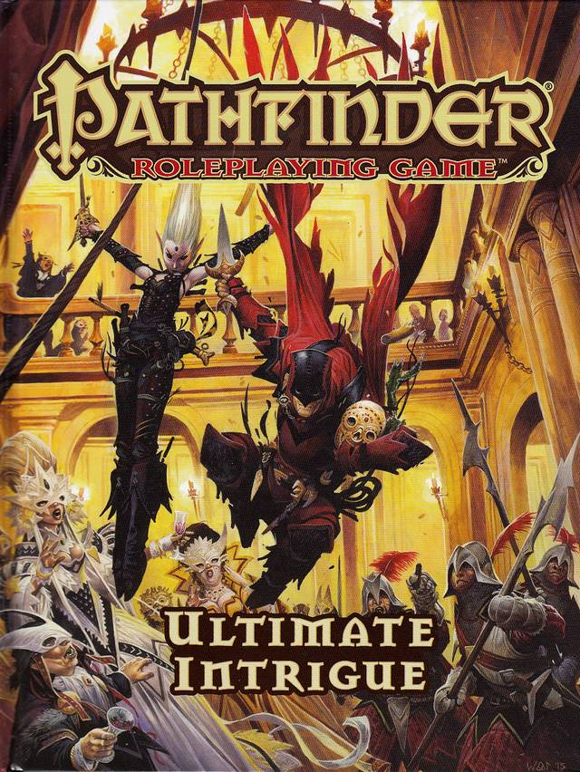 Pathfinder Roleplaying Game: Ultimate Intrigue - comprar online
