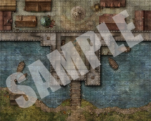 Pathfinder Flip-Mat: City Gates en internet