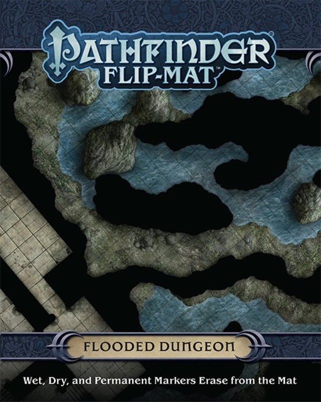 Pathfinder Flip-Mat: Flooded Dungeon