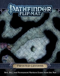 Pathfinder Flip-Mat: Twisted Caverns - comprar online