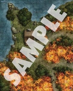 Pathfinder Flip-Mat: Forest Fire en internet
