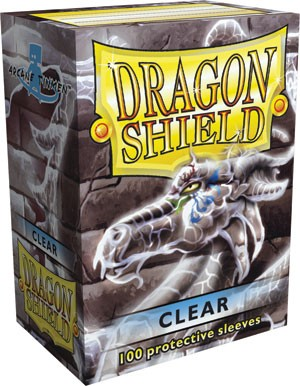 Folios Dragon Shield: Clear (100)