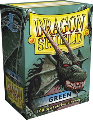 Folios Dragon Shield: Green (100)