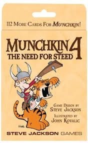Munchkin 4 The need for Steed - comprar online