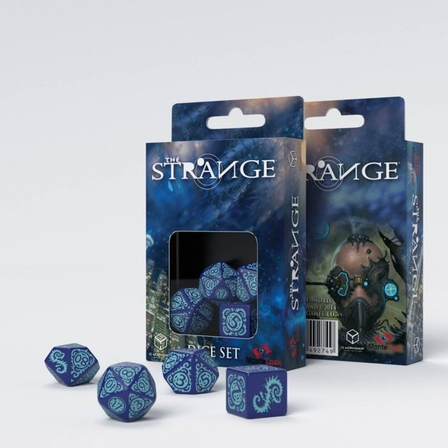 Set de 4 Dados Q-Workshop The Strange - comprar online