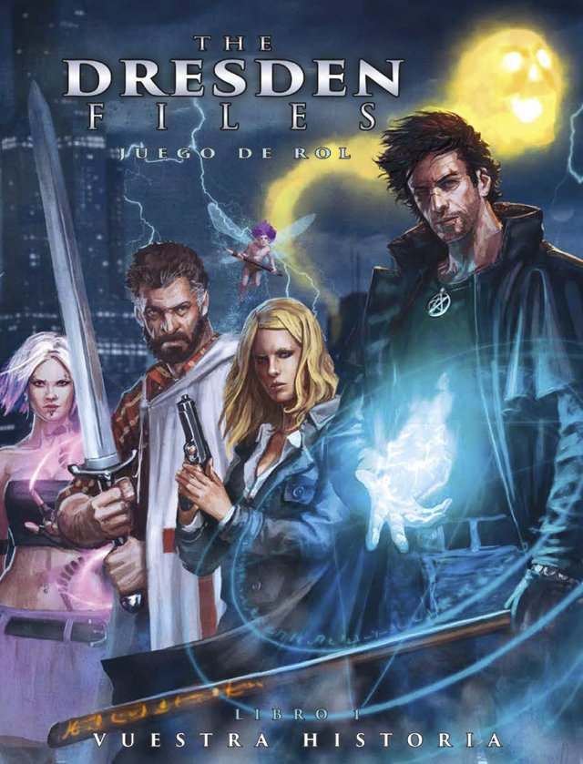 The Dresden Files: Juego de rol (Incluye copia virtual en PDF) - comprar online