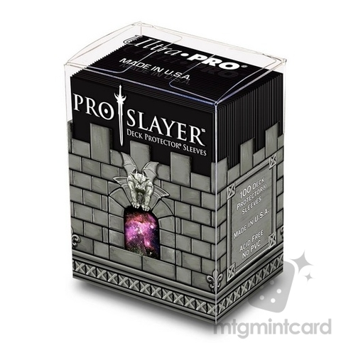 Ultra-Pro Pro-Slayer Deck Protector Sleeves (x100) Negro - comprar online