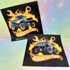 Servilletas monster truck x20 uidades