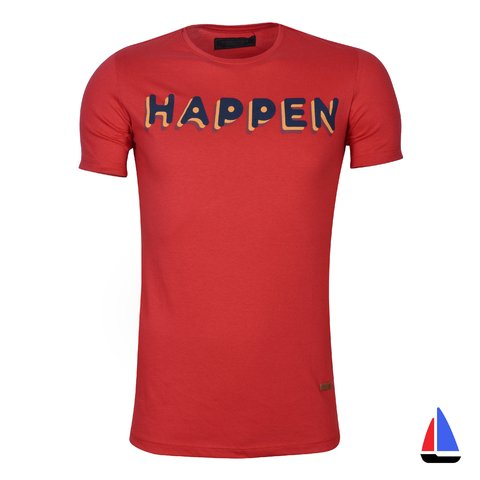 Remera Happen Rojo El Don