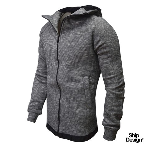 Campera Grafito Long Fit YRB