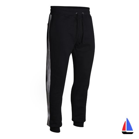 Jogger Label Negro/Blanco VCP