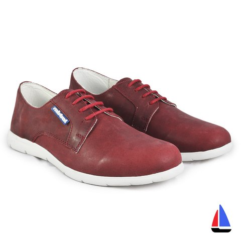 Zapatillas Trafalgar Bordo Mistral