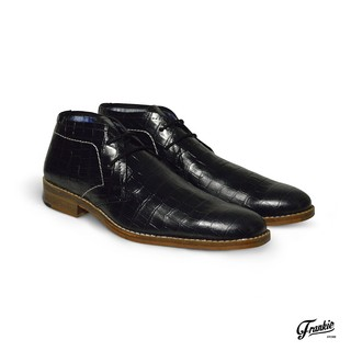 Botas Croco Negro Blood South