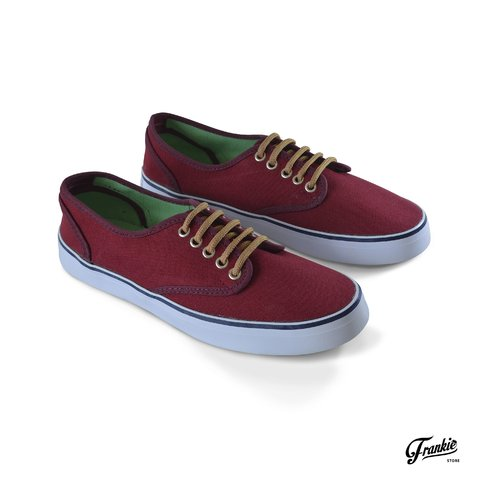 Zapatillas Basic Bordo Las Tabas