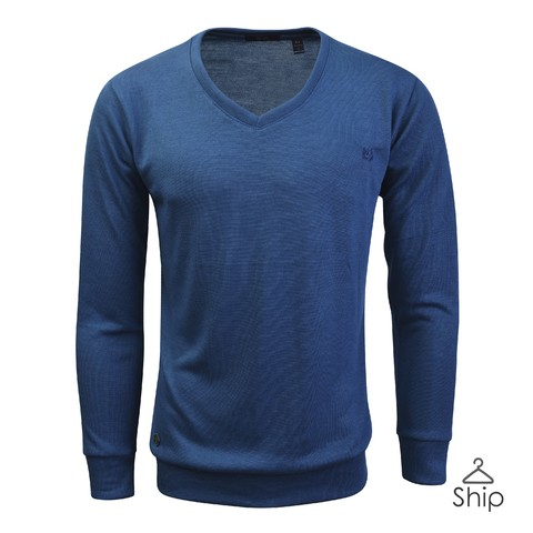 Sweater Vineland Azul Velo Santo - Ship