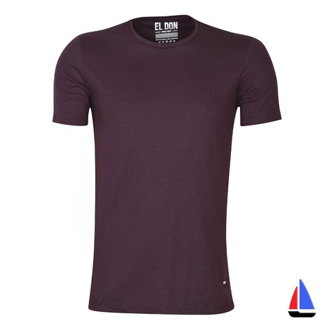 Remera Wear Basic Bordo El Don