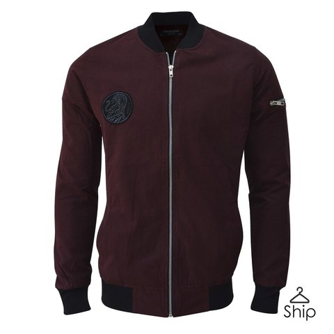 Campera Bomber Bordo El Don