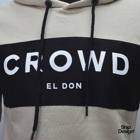 Buzo Crowd Beige El Don - comprar online
