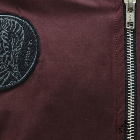 Campera Bomber Bordo El Don - comprar online