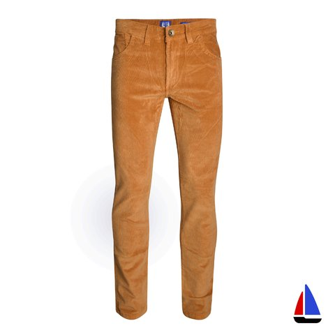 Pantalon Brown Corderoy Marrón Velo Santo