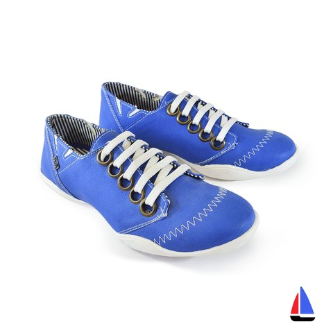 Zapatillas Retro Azul Blood South