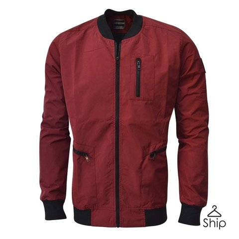 Campera Navy Roja El Don