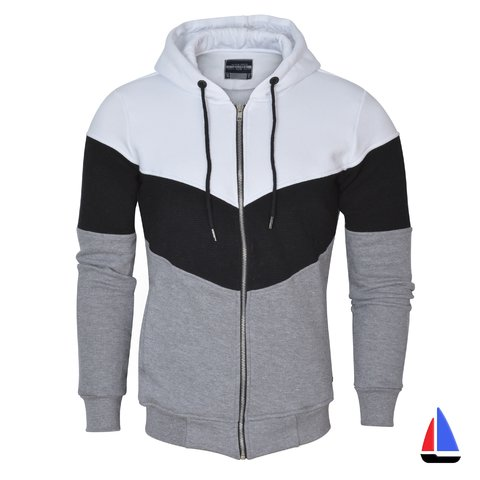 Campera Tri-Color Blanca El Don