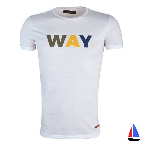 Remera Way Blanca El Don